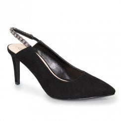 Lunar Jayla Evening Court Shoes - Black