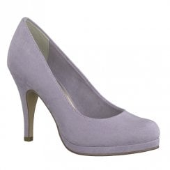 Tamaris Taggia High Heeled Platform Court Shoes - Lavender