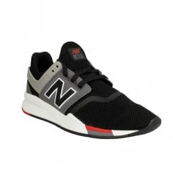 New Balance Men's Sport Style 247 Sneakers - Black/Red/Grey