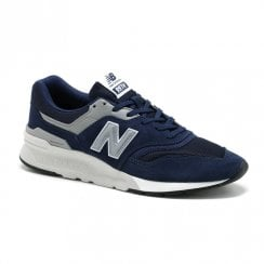New Balance Men's Classics 997H Suede Sneakers - Navy