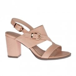 Kate Appleby Frome Slingback Heeled Sandals - Nude Makeup