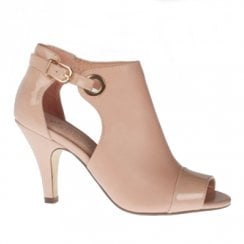 Kate Appleby Durham Heeled Suede Sandals - Pale Pink