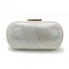 Lunar Francie Gemstone Hand Bag - Gold