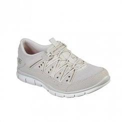 b897fe1f79f Skechers Womens Gratis Dreaminess Sneakers - Beige