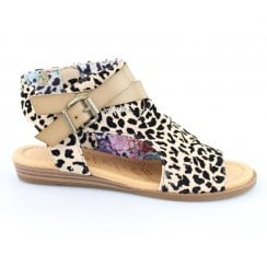 Blowfish Balla Vegan Sandal - Leopard