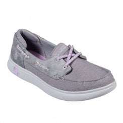 Skechers Womens On the GO Glide Ultra Playa Slip On Shoes - Grey