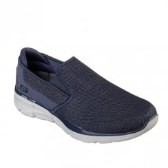 Skechers Mens Equalizer 3.0 Sumnin 52937 Slip On Sneakers - Navy