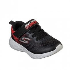 Skechers Kids Go Run 600 Farrox 97867N Velcro Sneakers - Black/Red