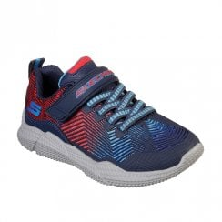 Skechers Kids Intersectors Protofuel 98111L Sneakers - Navy/Red