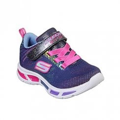 Skechers Girls S Lights: Litebeams Gleam N' Dream 10959N Sneakers - Navy