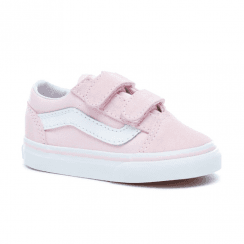ce93b1f770 Vans Kids Toddler Old Skool V Velcro Shoes - Chalk Pink
