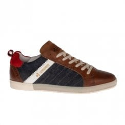 Lloyd & Pryce Tommy Bowe Mens Whitelock Casual Shoes - Camel Stress