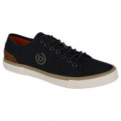 Bugatti Mens Navy Lace Up Casual Trainers Shoes - 321-72001