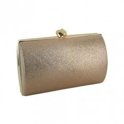 Menbur Vigone Rose Gold Clutch Bag - 84597
