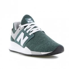 New Balance Mens 247 Green Sneakers