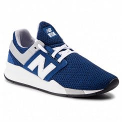 New Balance Mens 247 Navy Blue Sneakers