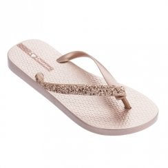 Ipanema Glam Special Crystal Womens Flip Flops - Rose