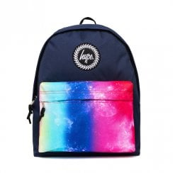 Hype Navy Rainbow Fade Pocket Backpack - HY006-0127