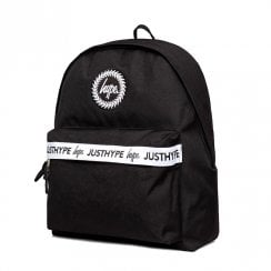 Hype Black Double Script Taping Backpack - HY006-0035