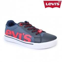 Levi's Kids Future Mega Trainer Shoes sizes 11 - 3 / White/Navy