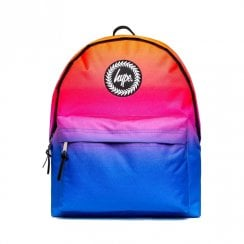 Hype Orange Pink Navy Hi-Fi Fade Backpack BTS19010