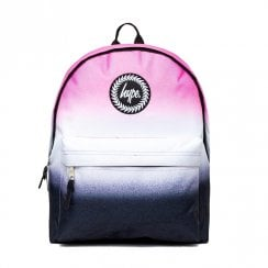 Hype Pink White Black Tew Dual Speckle Backpack BTS19011