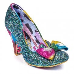 Irregular Choice Nick Of Time - Blue/Pink
