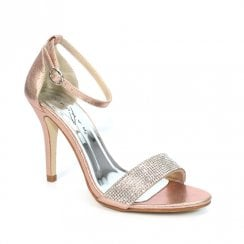 Lunar Rosalie JLH129 Rose Elegance Stiletto Heeled Sandals