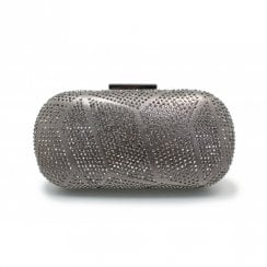 Lunar Francie Gemstone Hand Bag - Pewter