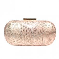 Lunar Francie Gemstone Hand Bag - Rose Gold