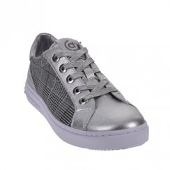 Bugatti Womens Silver Casual Trainers Shoes