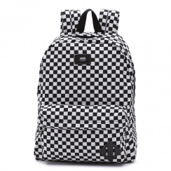 Vans Old Skool Skate Backpack - Black/White Checkered