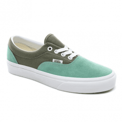 Vans Womens Era Retro Sport Suede Trainers - Mint/Khaki