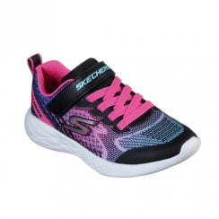Skechers Kids GOrun 600 Radiant Runner Sneakers - 82080 Black/Multi
