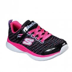 Skechers Kids Move N Groove Sparkle Spirit Sneakers  - Black