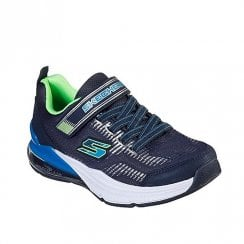 Skechers Kids Skech-Air Blast Tallix Sneakers - Navy/Blue/Green