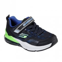 Skechers Kids Skech-Air Blast Tallix Sneakers - Black/Lime