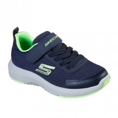 Skechers Kids Dynamic Tread Sneakers - 98151 Navy