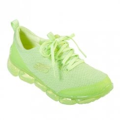 Skechers Womens Skech-Air 92 Significance Mesh Sneakers - Lime Green