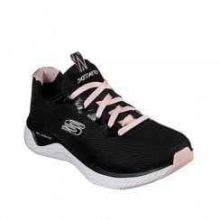 Skechers Womens Mesh Sneakers - Black