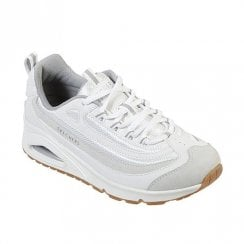 Skechers Womens Uno Roundabout Sneakers - 73678 White