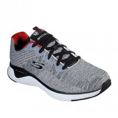 Skechers Mens Solar Fuse Kryzik Sneakers - 52758 Grey