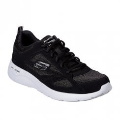 Skechers Mens Dynamight 2.0 Fallford Sneakers - Black