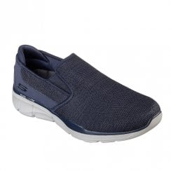 Skechers Mens Equalizer 3.0 Sumnin Sneakers - Navy
