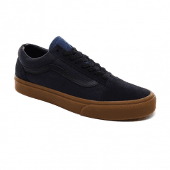 Vans Unisex Gum Sole Old Skool Low Trainers - Night Sky/True Navy