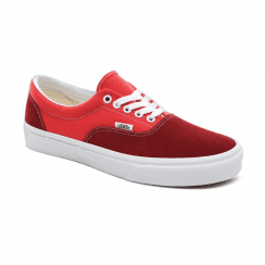 Vans Unisex Retro Sport Era Suede Trainers - Biking Red/Poinsettia