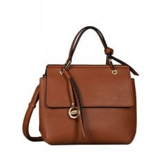 Gabor Ladies Aleria Flap Shoulder Bag 8319 - Cognac