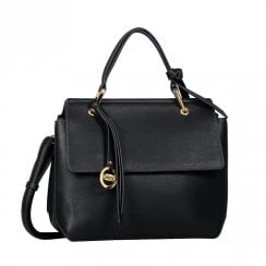 Gabor Ladies Aleria Flap Shoulder Bag 8319 - Black