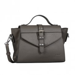 Gabor Ladies Veronika Flap Shoulder Bag 8319 - Dark Grey
