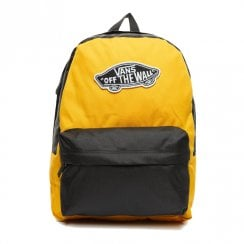 Vans Realm 22L Backpack - Yellow Mango/Black